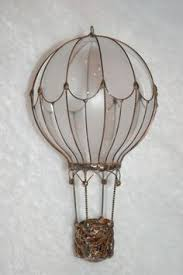 re purpose lightbulbs into air balloon ornaments these are
