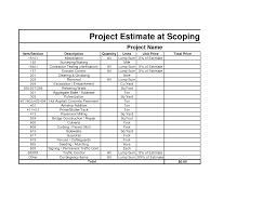 Repair Estimate Template by Construction Page 504 Estate Buildings Information Portal