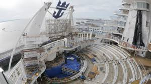 99 days of harmony a shipyard update from royal caribbean on