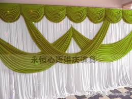 Curtains Wedding Decoration High Quality Wedding Backdrop Curtain Angle Wings Sequined Cheap