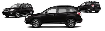 subaru black 2017 subaru forester awd 2 5i premium 4dr wagon 6m research