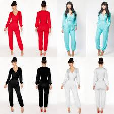 jumpsuits for on sale sale womens v neck casual sleeve jumpsuit rompers