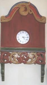 Scandinavian Wall Clock Scandinavian Swedish Norwegian Painted U0026 Carved Wall Clocks