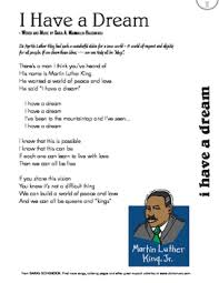 martin luther king i a testo mlk day song i a free lyric sheet by world
