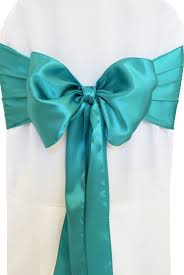 turquoise chair sashes monrrealcompany chair sash