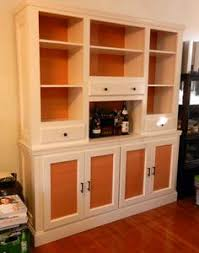 white sideboard buffet cabinet diy wood top country pretty doors