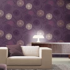 Home Wallpaper Decor Home Decor K2 Starburst Wallpaper Plum 10440 Floral