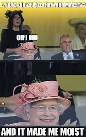 Elizabeth Meme - queen elizabeth ll really does have a creepy smile meme guy