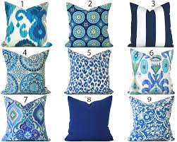 patio cushions and pillows blue outdoor pillows any size outdoor cushions outdoor pillow