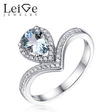 aquamarine engagement rings compare prices on aquamarine engagement rings online shopping buy