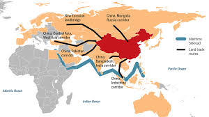 Where Is China On The Map by China U0027s Belt And Road Infrastructure Plan Also Includes Science