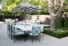 Black And White Patio Umbrella Black And White Striped Outdoor Umbrella Outdoor Designs