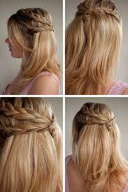 braid half updo hairstyles for proim zestymag