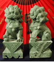 green foo dogs jade foo dogs temple lions
