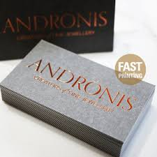 foil business cards nyc foil business card printing services