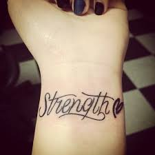 small heart strength tattoo on wrist golfian com