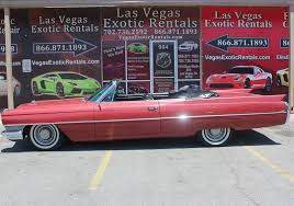 rental las vegas 1964 cadillac for rent in las vegas