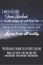lost boy ruth peter pan lost boy neverland song lyrics