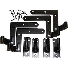 Decorative Hardware Store Ekena Millwork 1 1 16 In Offset Hinge Set 4 Hinges Nr481bl