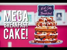 how to make a mega breakfast cake with easy to make cinnamon