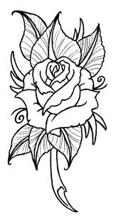design flower rose drawing rose flower drawing designs