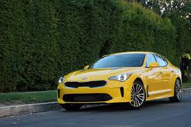 kia supercar 2018 kia stinger priced in the united states autoguide com news