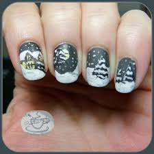 84 best winter nails images on pinterest holiday nails