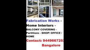 low cost aluminium home interiors bangalore ph 9449667252