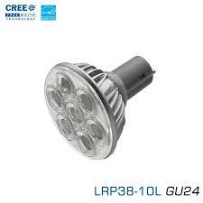 Gu24 Led Light Bulb Cree Lrp Led Par38 Gu24 Lrp38 10l Gu24 U2013 Earthled Com