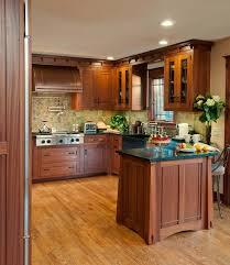 Arts And Crafts Kitchen Design Arts U0026 Crafts Kitchen With Ellsworth Door Craftsman Kitchen