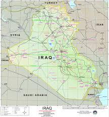 Iraq Province Map Map Of Iraq U2013 Israa U0026 Mi Raj Net