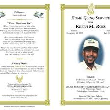 funeral bulletin template american funeral program template exle helloalive