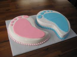 photo baby shower cakes two peas image