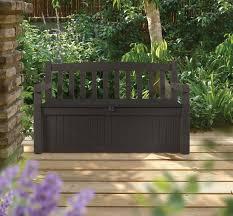 Suncast 50 Gallon Patio Bench by Amazon Com Keter Eden 70 Gallon All Weather Outdoor Patio