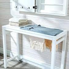 folding table with storage laundry folding table laundry table with storage laundry folding