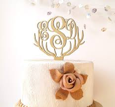 monogram cake toppers for weddings top 10 best monogram cake toppers heavy