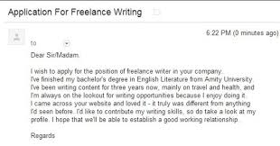 tips for writing a cover letter for a job application how to