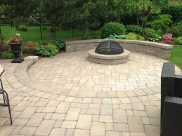 Cost To Install Paver Patio by Chicago Patio Brick Pavers Aztec Stone Design