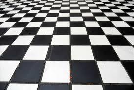 Retro Vinyl Sheet Flooring by Checkerboard Tile Floor Gallery Tile Flooring Design Ideas