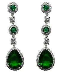 emerald green earrings earrings beloved sparkles