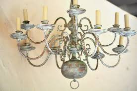 Painted Chandelier Creative Painted Chandelier Design For Decorating Home Ideas With