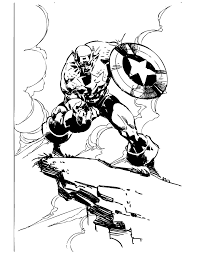 mad captain america coloring u0026 coloring pages