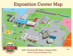State Map Of Oregon by Fairgrounds Map Oregon State Fair And Expo Center