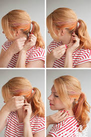 layer hair with ponytail at crown how to fake a long ponytail without hair extensions the double