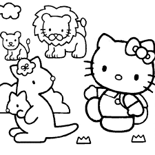 100 ideas coloring pictures kitty emergingartspdx