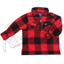 hickory shirt co lil buffalo plaid 1 2 zip sleeve flannel