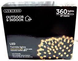warm white led twinkle lights lumineo indoor outdoor led twinkle christmas lights warm white 360