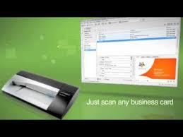 Cardscan Personal Business Card Scanner V9 Dymo Card Scan V9 Youtube