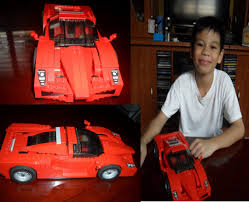 lego ferrari enzo lego live construction ferrari enzo 1 17 set 8652 youtube