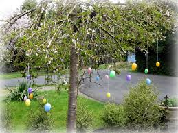 outdoor easter decorations thoughts that stick outdoor easter decor